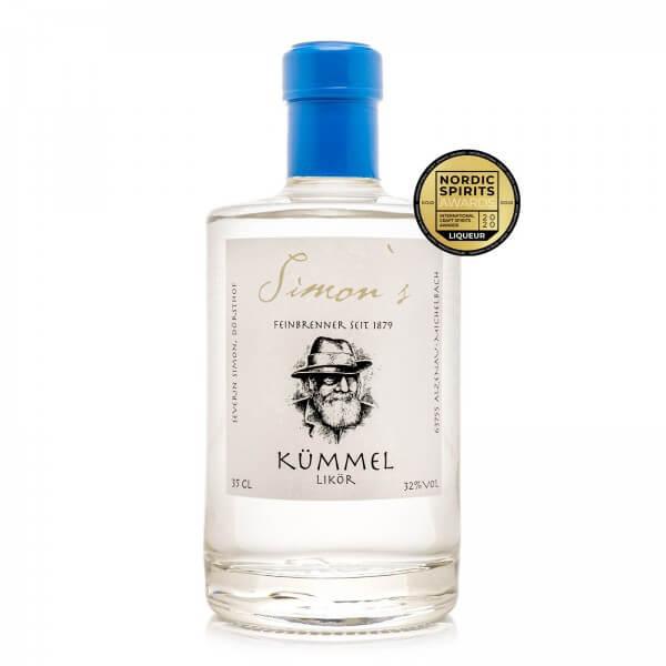 Produktbild einer Flasche Simon's Kümmellikör