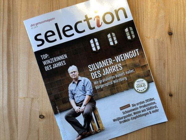 Simons-selection-Gold-Medaille-Titelseite