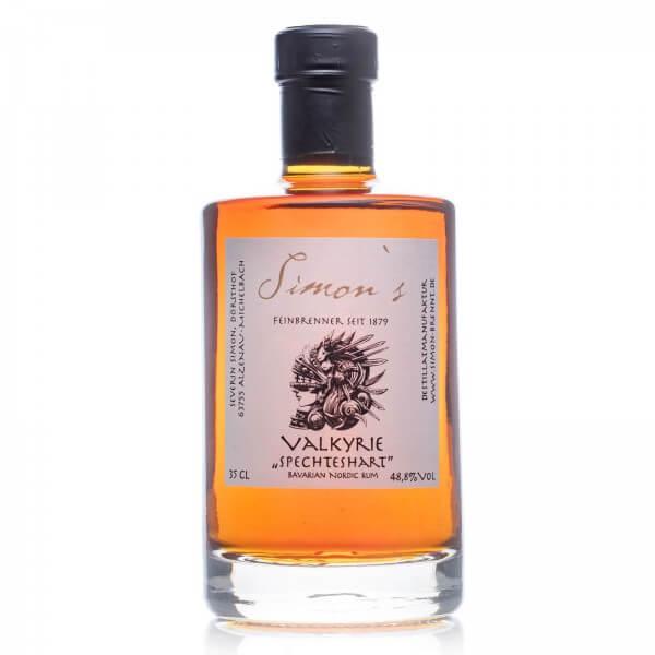 Produktbild einer Flasche Simons Valkyrie Spechteshart Rum