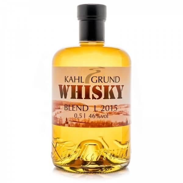 Produktbild einer Flasche Kahlgrund Whiskey Blend von Simon's Feinbrennerei