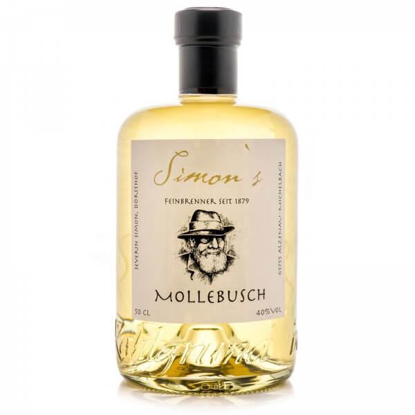 Produktbild einer Flasche Simon's Mollebusch-Brand Schnaps